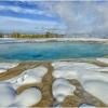 At Grand Prismatic Yellowstone